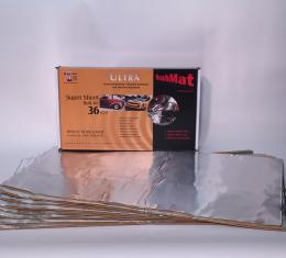 "HushMat Super Bulk Kit - Silver Foil with Self-Adhesive Butyl-9 Sheets 18"" x 32"" ea 36 sq ft 10801"