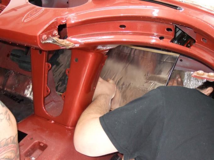 HushMat Chevrolet Corvette 1963-1967   Firewall Deadener and Insulation Kit 627632