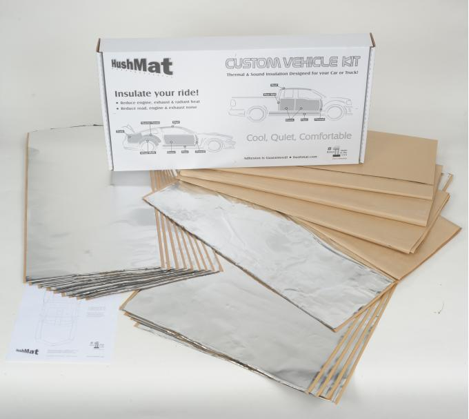 HushMat Jeep Cherokee 1984-2001   Sound and Thermal Insulation Kit 66508