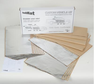 HushMat Chevrolet Chevy II 1966-1967   Sound and Thermal Insulation Kit 62666