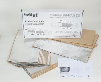 HushMat Cadillac XLR 2004-2008   Sound and Thermal Insulation Kit 61782