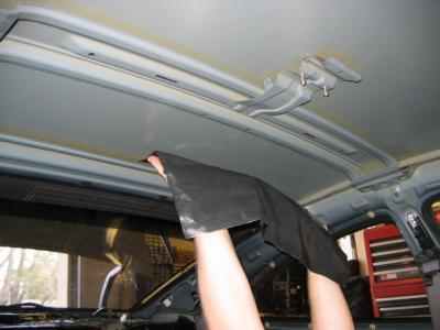 HushMat Chevrolet El Camino 1968-1972   Roof Thermal Insulation and Deadener 623685