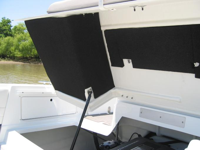 HushMat  Marine Boat Complete Engine Cover and Transom Thermal Insulation and Deadener 75666