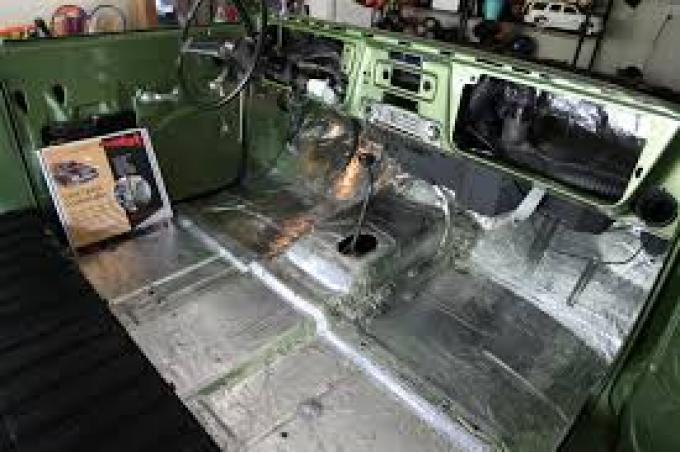 HushMat Dodge Dakota 1987-2004   Firewall Deadener and Insulation Kit 664012