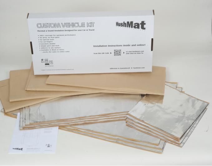 HushMat Ford Bronco 1987-1991   Sound and Thermal Insulation Kit 62887