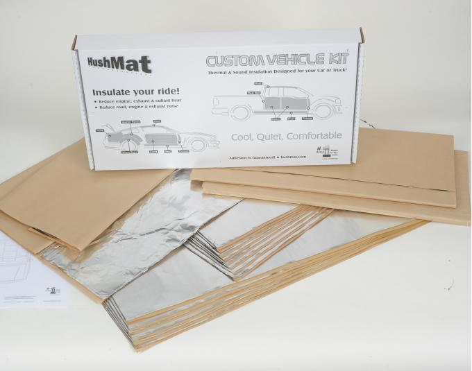 HushMat Dodge Coronet 1965-1970   Sound and Thermal Insulation Kit 66266