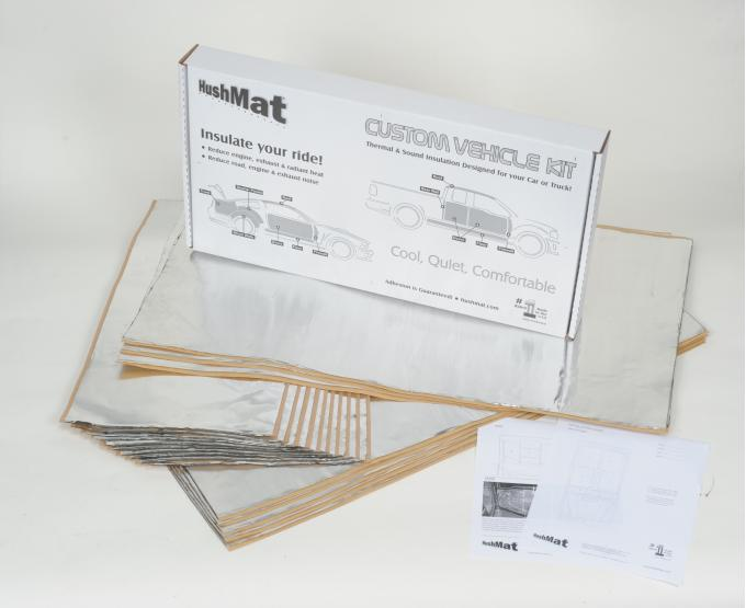 HushMat Peterbilt 359 1981-1988  Flat Top Truck 36 in. Sleeper Floor Only Insulation Kit 81101