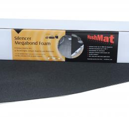 "HushMat Gasket Kit - 1/ 8"" Silencer Megabond Thermal Insulating and Sound Absorbing Self-Adhesive Foam-2 Sheets 23"" x 36"" ea 11.5 sq ft 20100"