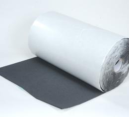 "HushMat 1/ 4"" Silencer Megabond Thermal Insulating Self-Adhesive Foam Bulk Roll - 24"" x50' ea 100 sq ft 22400"