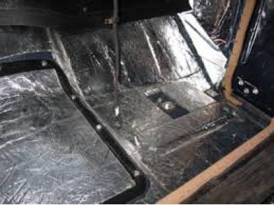 HushMat Chevrolet Corvette 1997-2004   Floor Deadening and Insulation Kit 627971