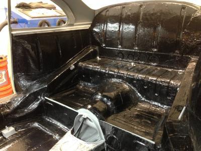HushMat Porsche 356 1948-1955   Floor Deadening and Insulation Kit 580151