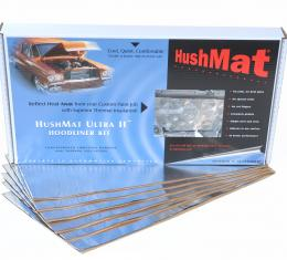"HushMat Universal Auto & Truck Heavy Duty Hoodliner Insulation - 6 Sheets 12"" x 23"" ea 50100"