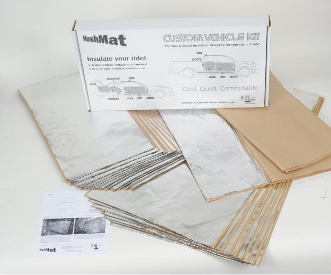HushMat Honda Civic 2011-2018   Sound and Thermal Insulation Kit 68007