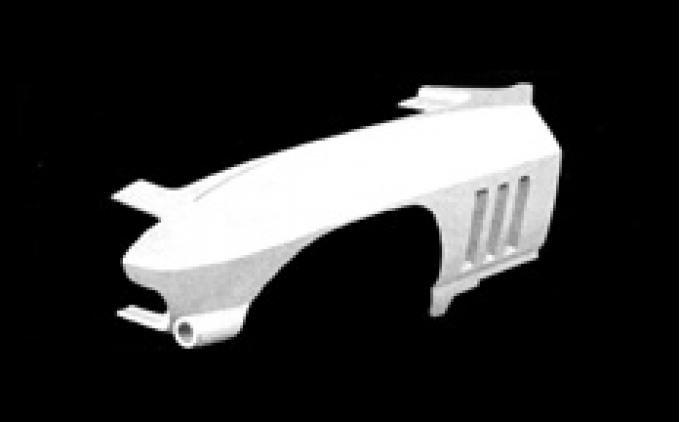 ACI Fiberglass 1963-1964 Chevrolet Corvette One-Third Front End Right YJF040