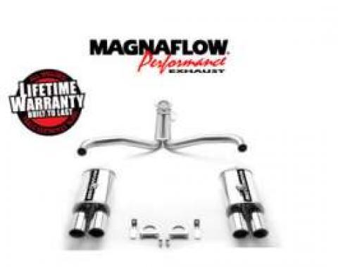 Corvette Exhaust, Magnaflow, 1986-1991