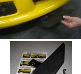 "Corvette Front License Plate Mount, ""Show & Go"", Grand Sport & Z06, 1997-2013"