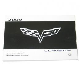 Corvette Owners Manual, 2009