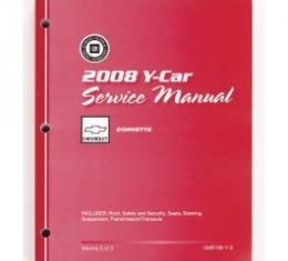 Corvette Service Manual, 2008