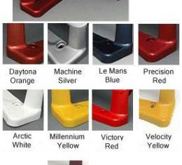 Corvette Color Keyed Door Handles, Arctic White, 2005-2013
