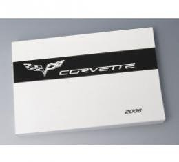 Corvette Owners Manual, 2006