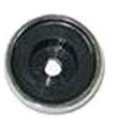 Corvette Radio Control Knob Back Plate, Without Tab, 1972-1976