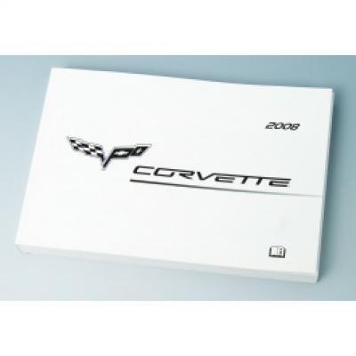Corvette Owners Manual, 2008