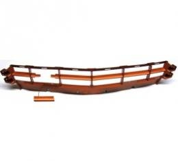 Corvette Grille, Front, Painted To Match, Sunset Orange, 2005-2006
