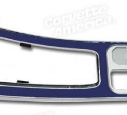 Corvette Center Console, Dark Blue without Power Windows, 1964