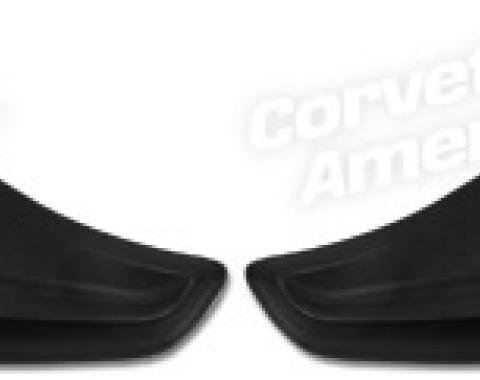 Corvette Rocker Panel Styling Screens, Stainless Steel Z06, 1997-2004