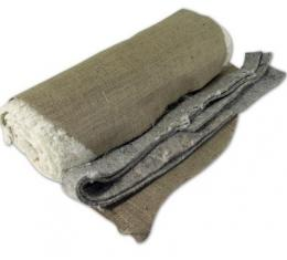 Corvette Seat Cotton Pad & Burlap Kit, 1956-1962