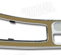 Corvette Center Console, Sadle without Power Windows, 1967
