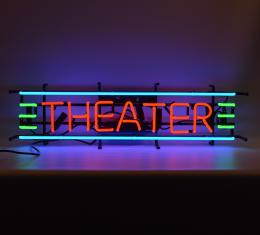 Neonetics Standard Size Neon Signs, Theater Red, Green & Blue Neon Sign