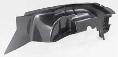 Corvette Inner Fender Skirt, Stock Design, Left, 1958-1962