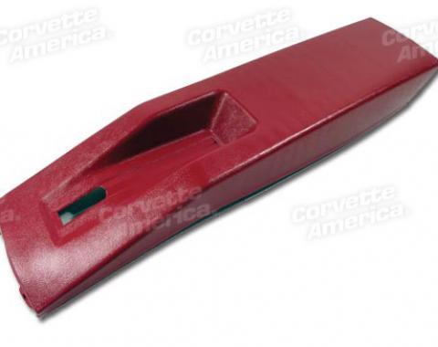 Corvette Park Brake Cover, 1977-1982 | Red, 1977-1981