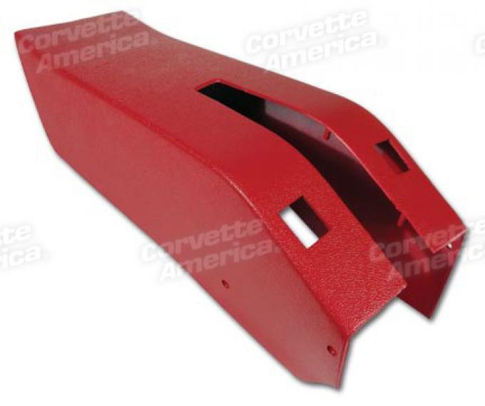 Corvette Park Brake Console, Power Windows, 1969-1976 | Red (30), 1969-1972