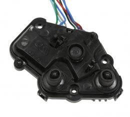 Corvette Outside Mirror Motor Kit, Remote/Heated with Memory Package, Left, 1997-2004