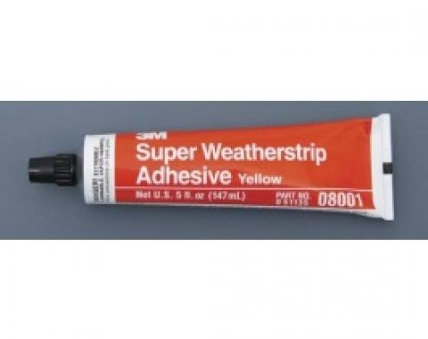 3M Weatherstrip Adhesive, Yellow