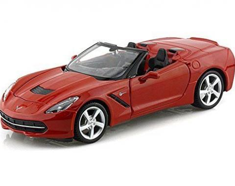 Maisto 1:24 W/B Special Edition 2014 Chevrolet Corvette C7 Stingray Convertible Red