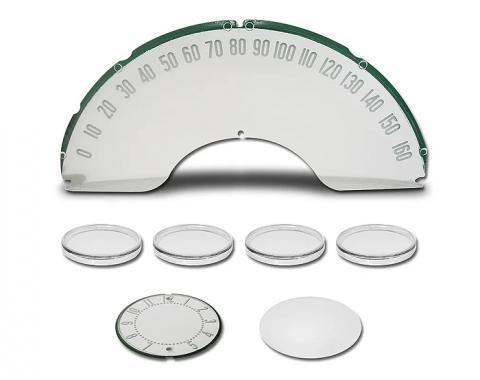 Trim Parts 59-62 Corvette Instrument Lens Set 5143