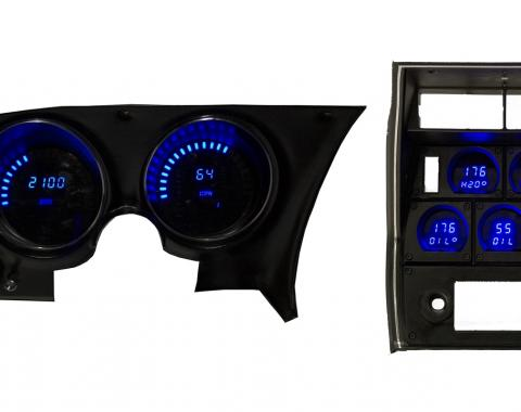 Intellitronix 1968-1977 Corvette LED Digital Gauge Panel DP2001