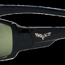 Black Corvette Sunglasses, with C6 Logo