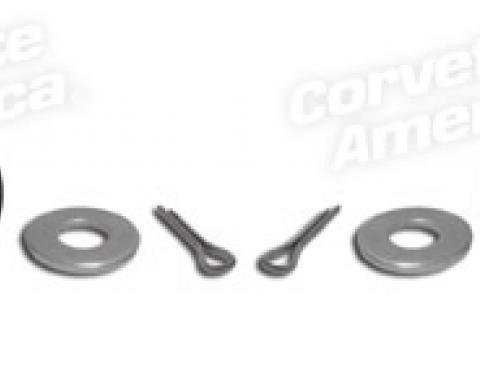 Corvette Hood Latch Cable Clevis Pin Kit, 1968-1982