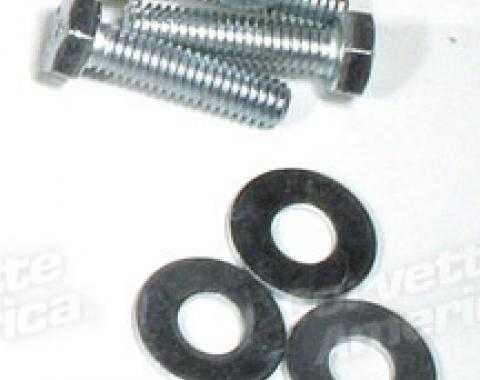 Corvette Hood Latch Striker Bolt Kit, 1977-1982