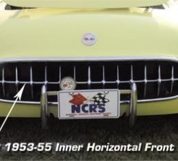 Corvette Front Bumper, Inner Horizontal, 1953-1955