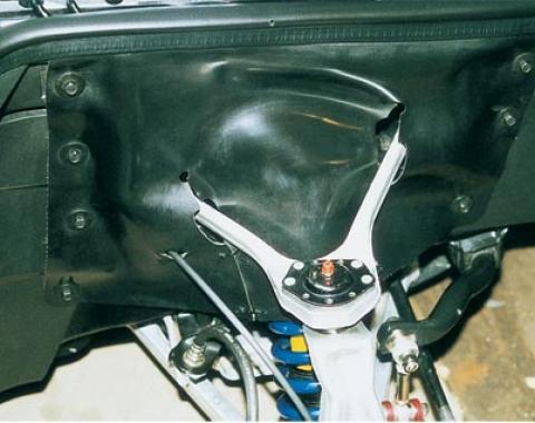 Corvette Inner Fender Skirt Dust Shields, 1988-1996