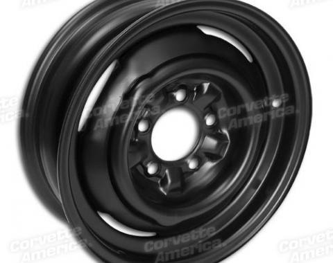"""Corvette Steel Wheel, Welded, 15"""" x 5"""", 1956-1964"""