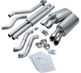 Corvette Corsa Power Pulse Exhaust, LT1/LT4 with Pro Tips, 1996