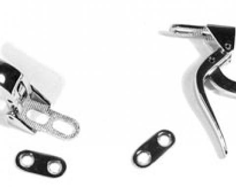 Corvette Softtop Latches, Front on Top, 1953-1955