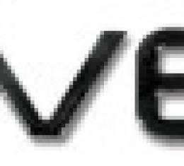 Corvette Letter Set, Rear Acrylic Black, 1991-1996