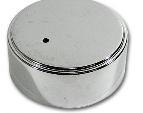 Corvette Power Steering Cap Cover, Chrome, 1984-1989